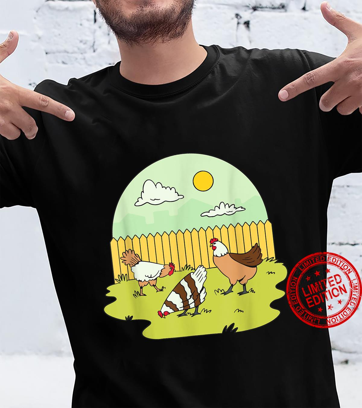 Garden Chicken Farmer Chicken Coop Gardener Chickens Gardeni Shirt