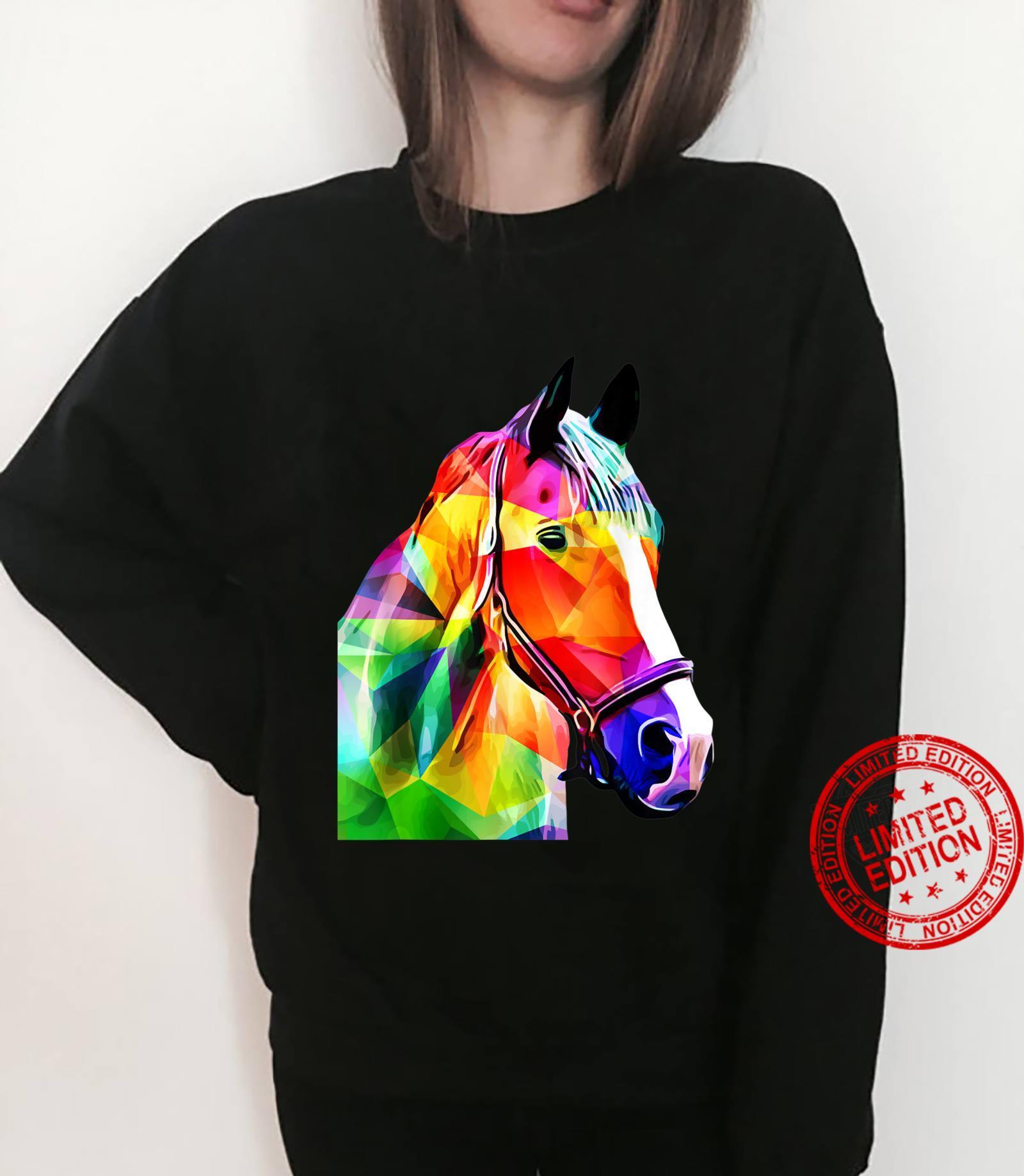Pop Art Horse Horses Shirt sweater