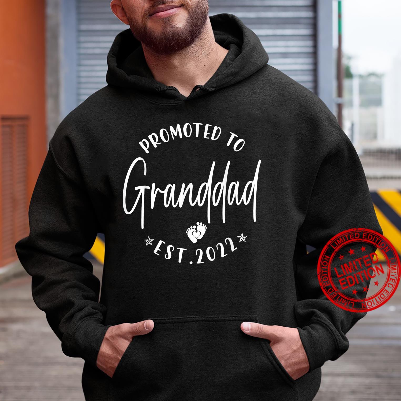Promoted To Granddad Est 2022 Soon To Be Granddad Shirt hoodie