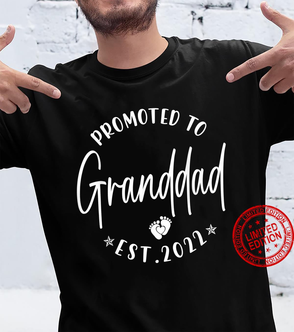 Promoted To Granddad Est 2022 Soon To Be Granddad Shirt