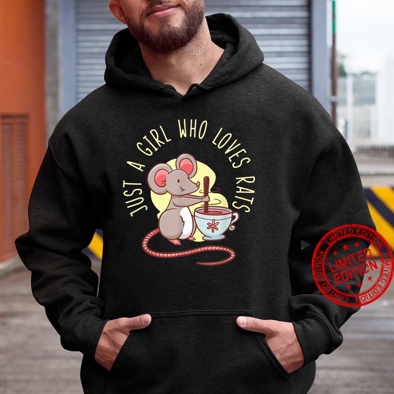 Rat For Girl Rodent Mouse Whisperer Shirt hoodie