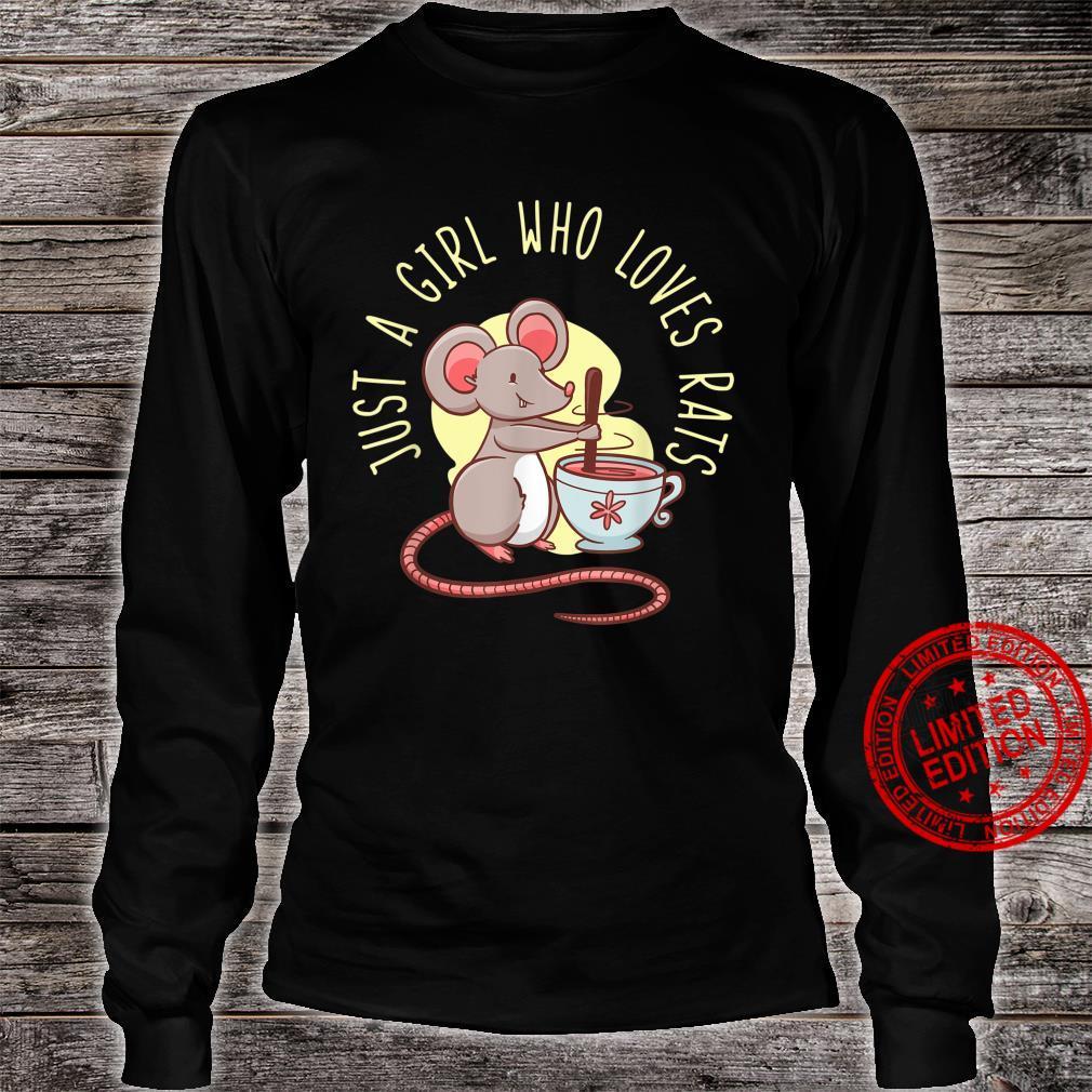 Rat For Girl Rodent Mouse Whisperer Shirt long sleeved