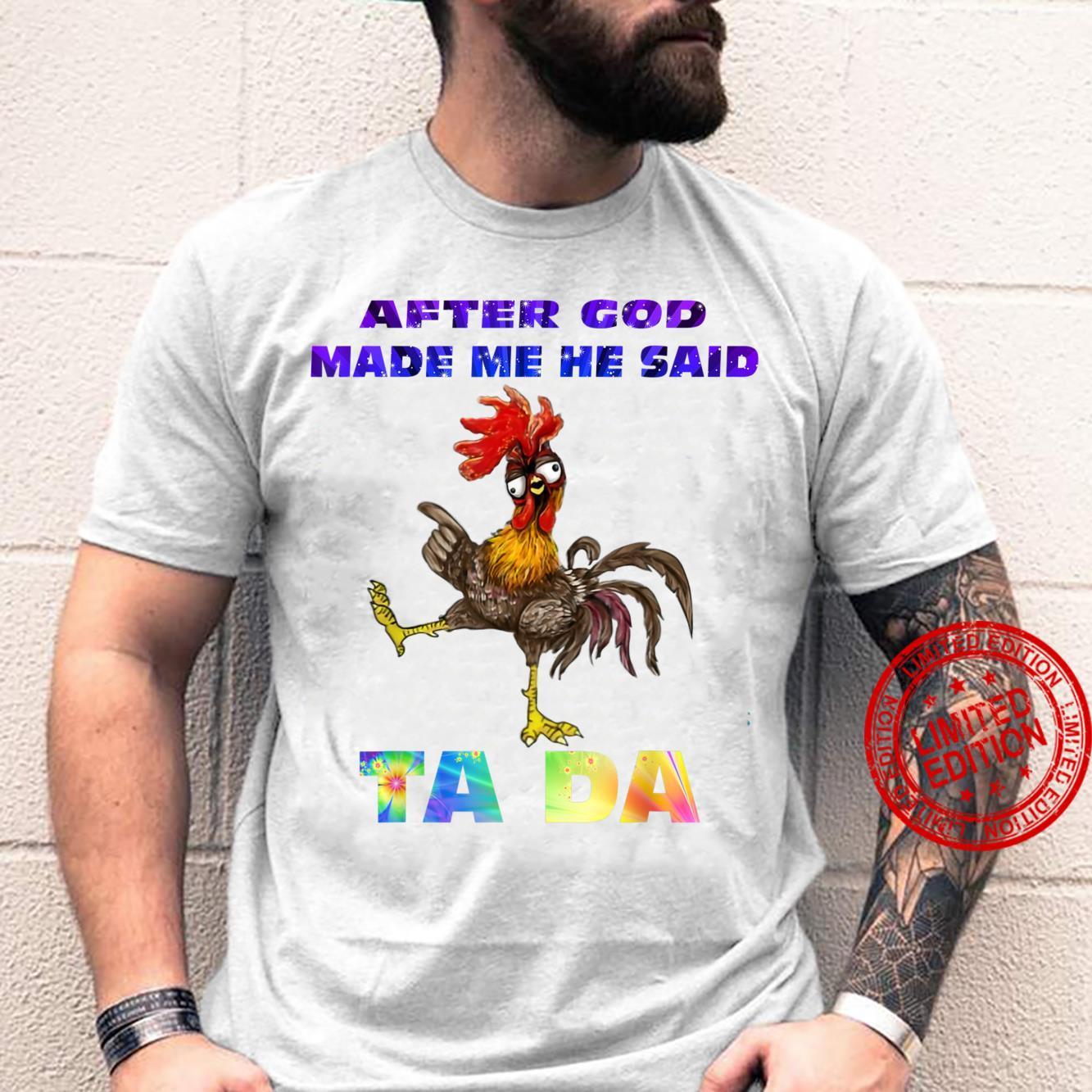 Tada FA FA Shirt
