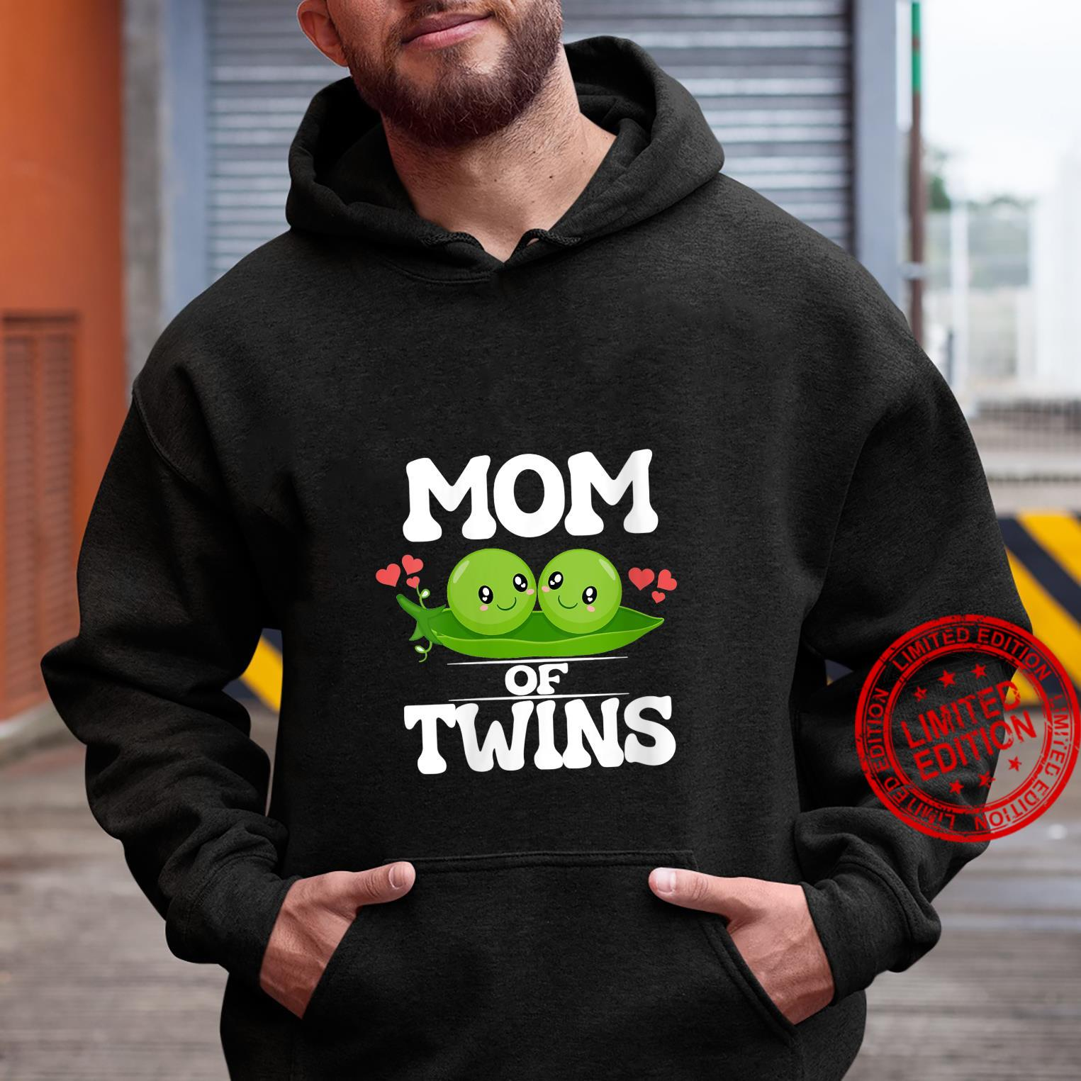 Womens Mom Of Twins Mother Shirt hoodie
