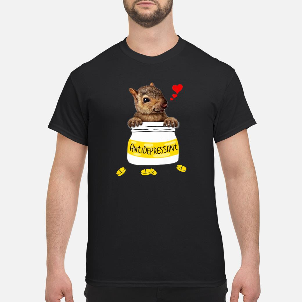Antidepressant Squirrel Bottle Squirrel Shirt