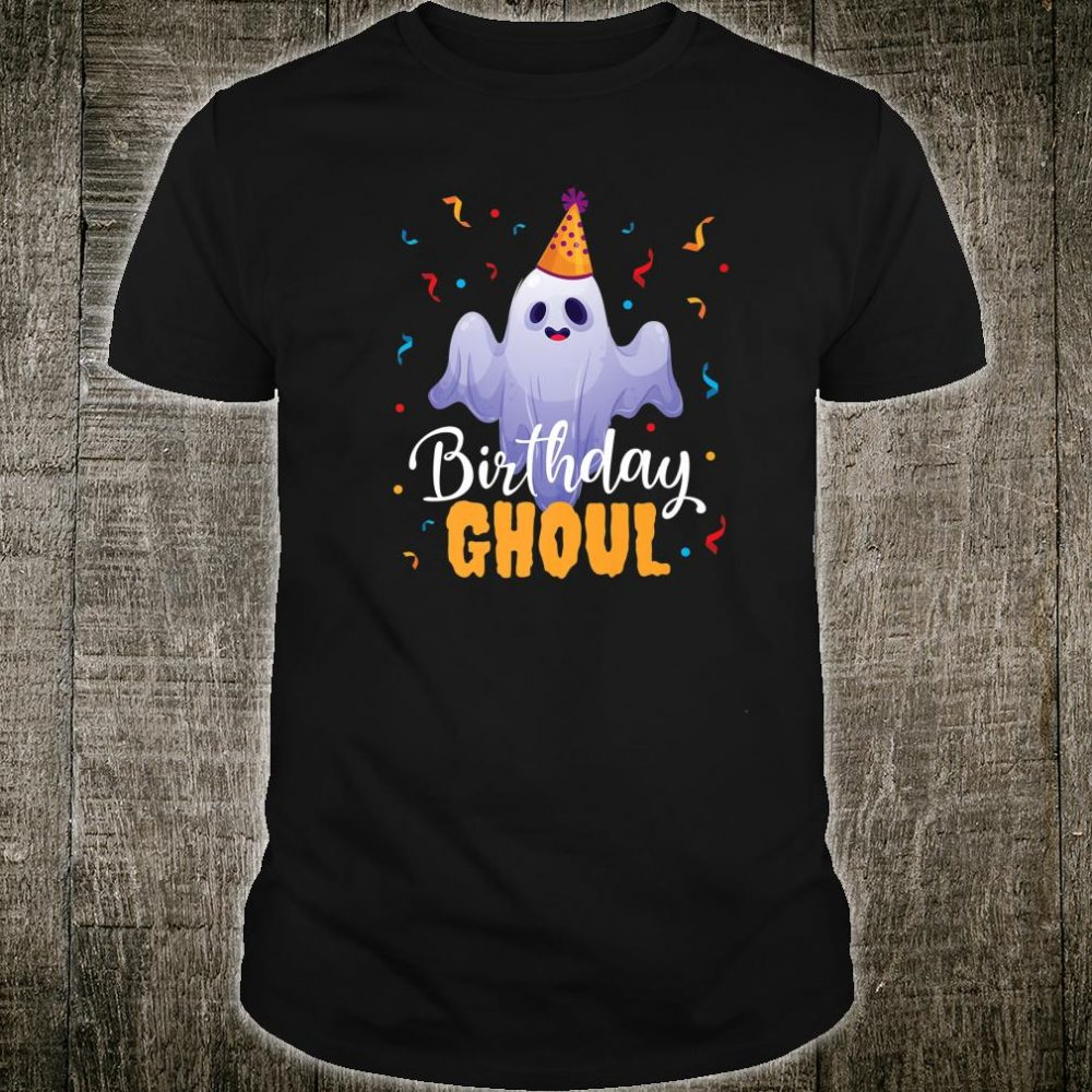 Birthday Ghoul Halloween Party Costume Shirt