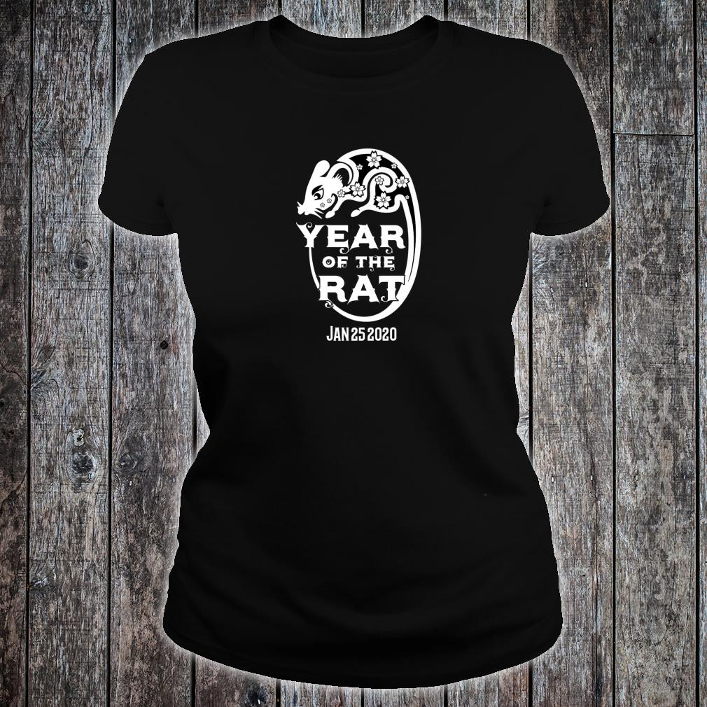 Chinese Year Of The Rat 2020 Shirt ladies tee