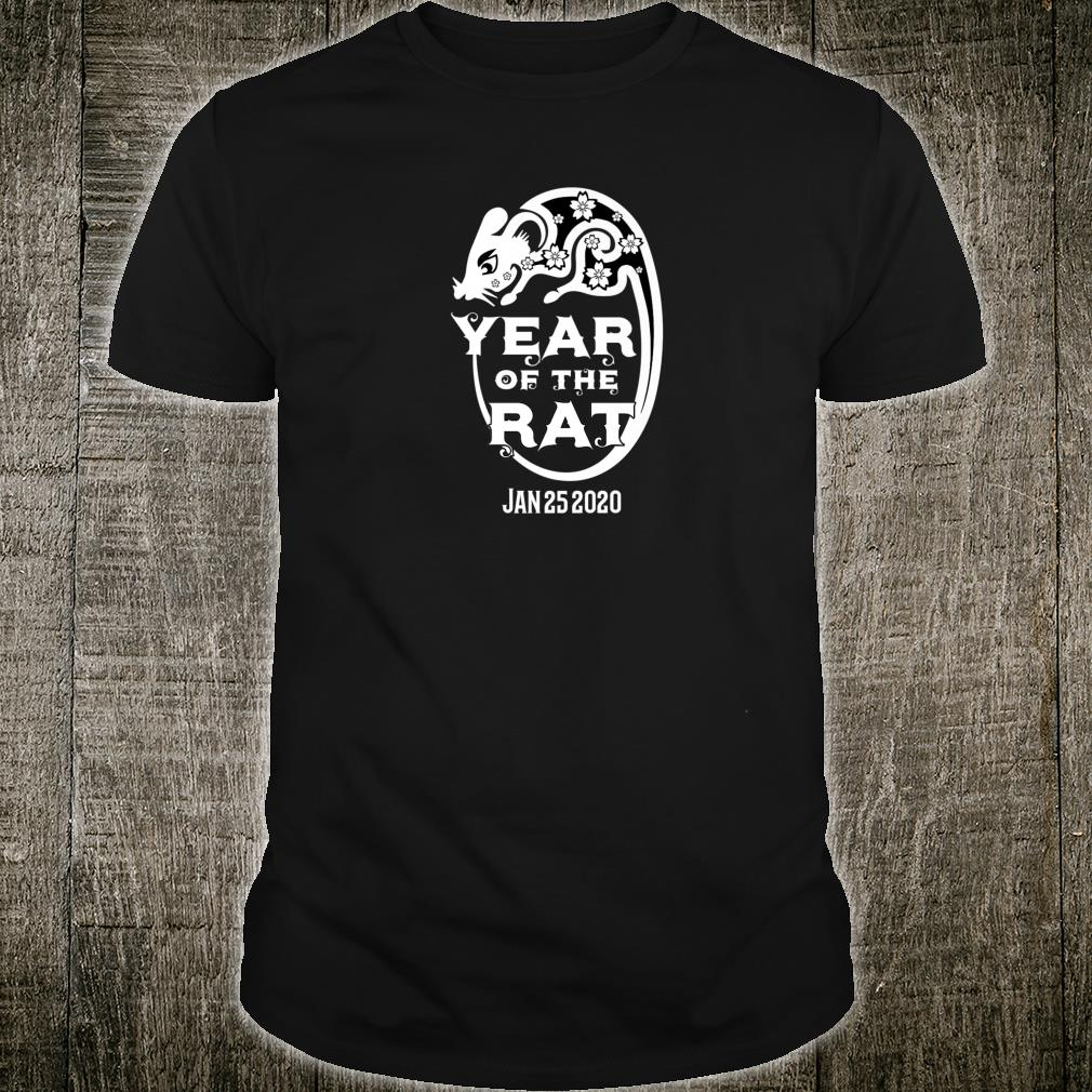 Chinese Year Of The Rat 2020 Shirt