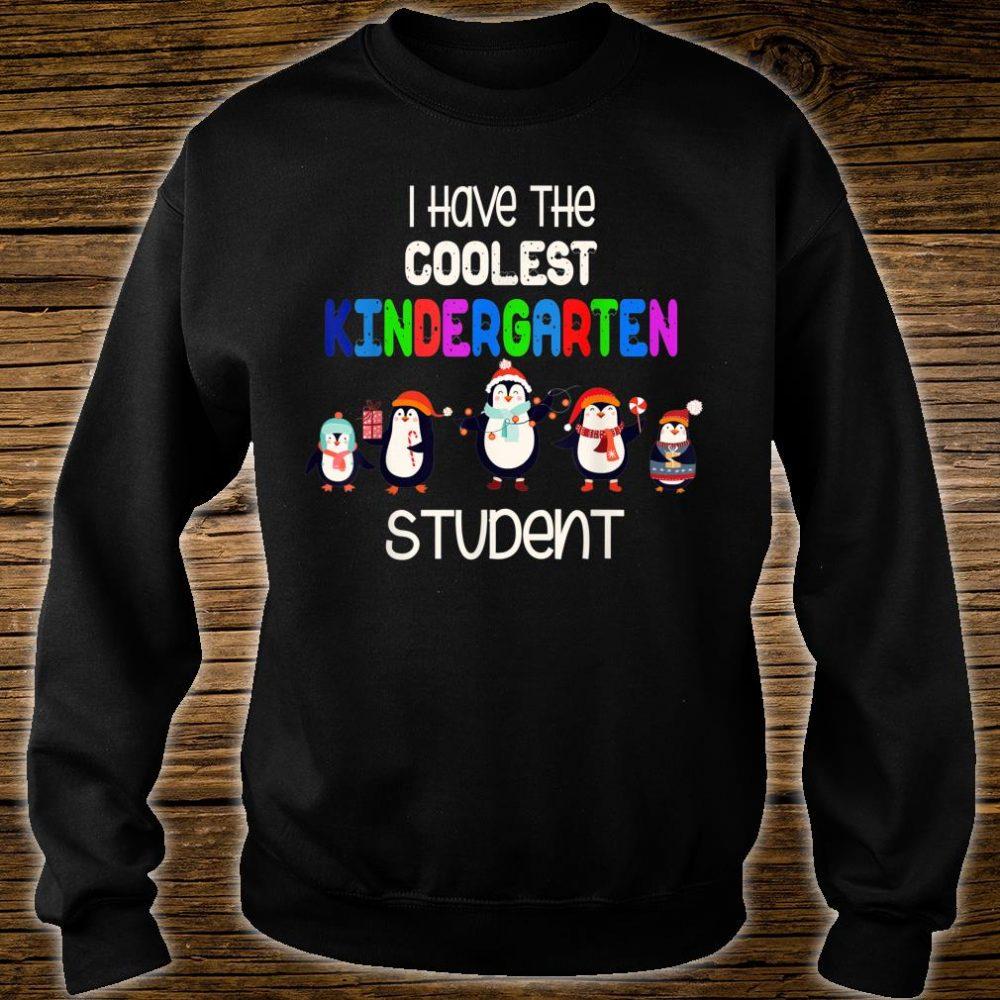Christmas i have the coolest kindergarten student penguin Shirt sweater