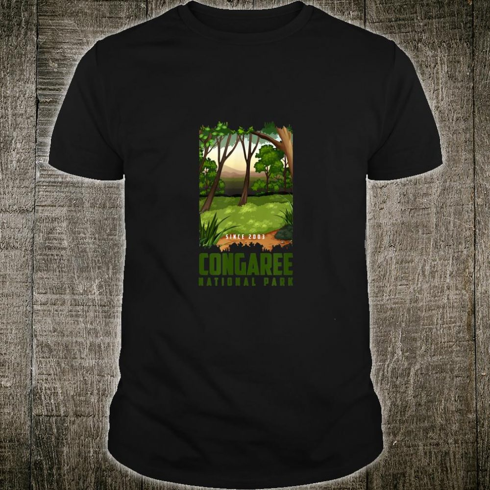 Congaree National Park Scenic Forest Shirt