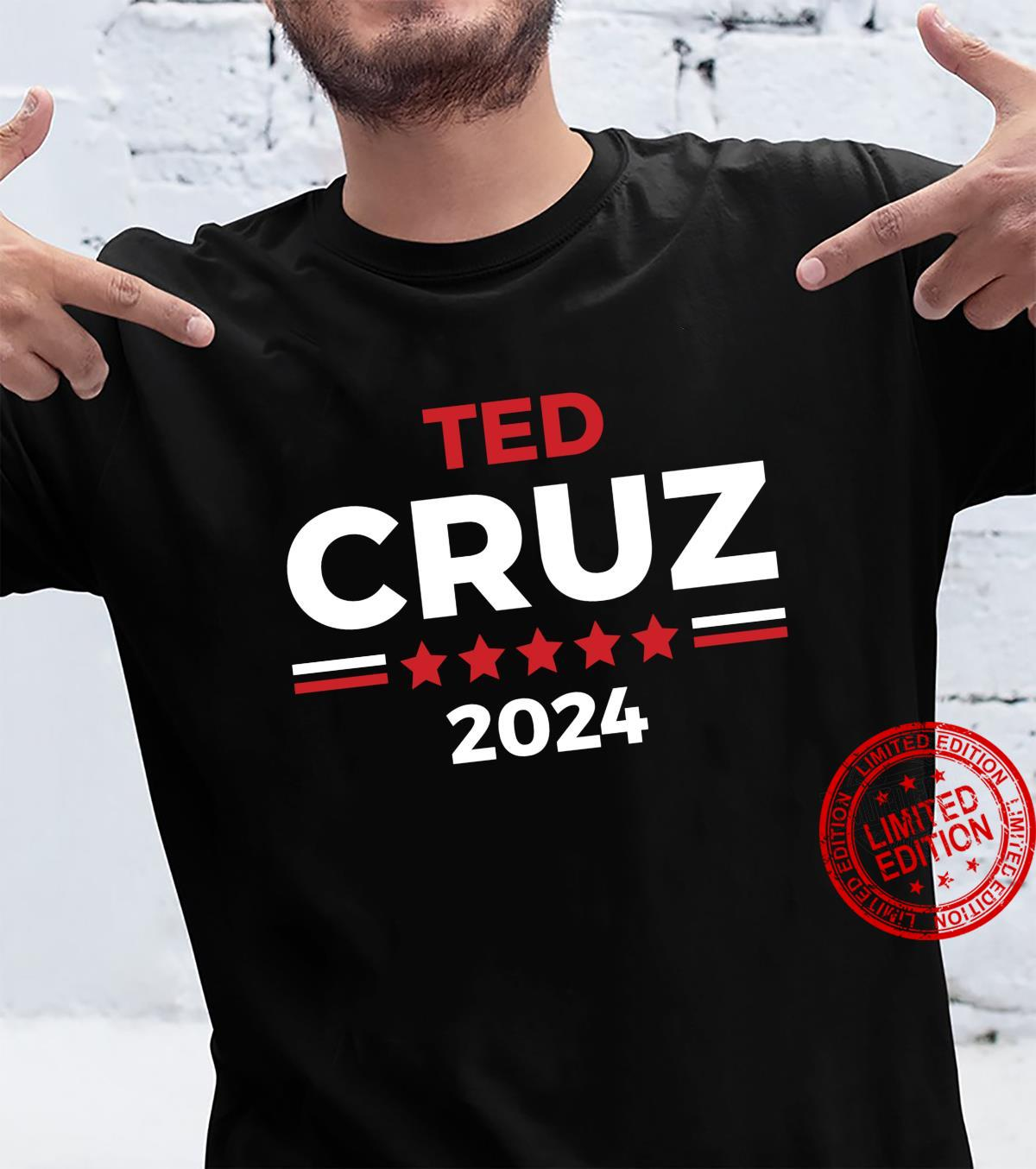 Conservative Republican Ted Cruz for President Shirt