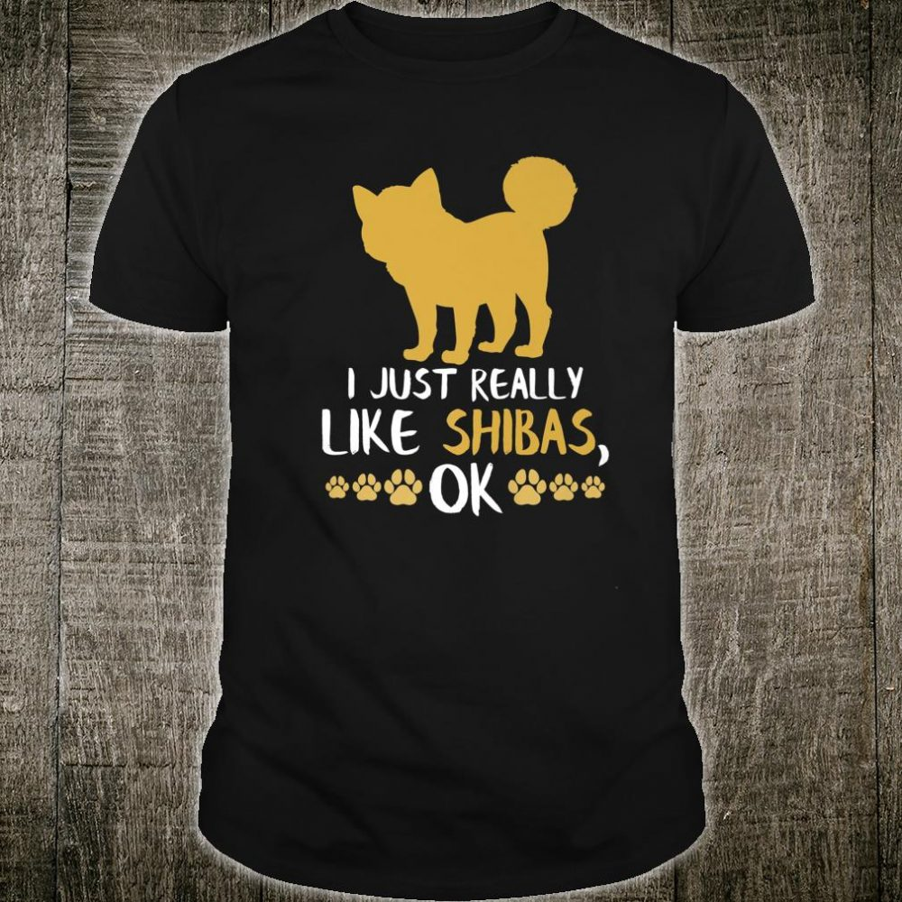 Funny Shiba Inu Cute Shiba Inu Gift Dogs Shirt