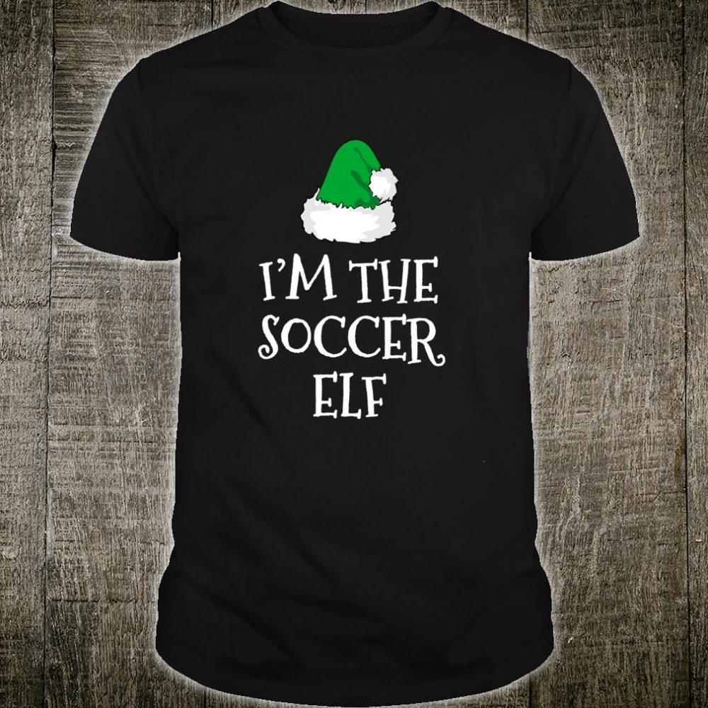 I'm The Soccer Elf Family Christmas Player Shirt