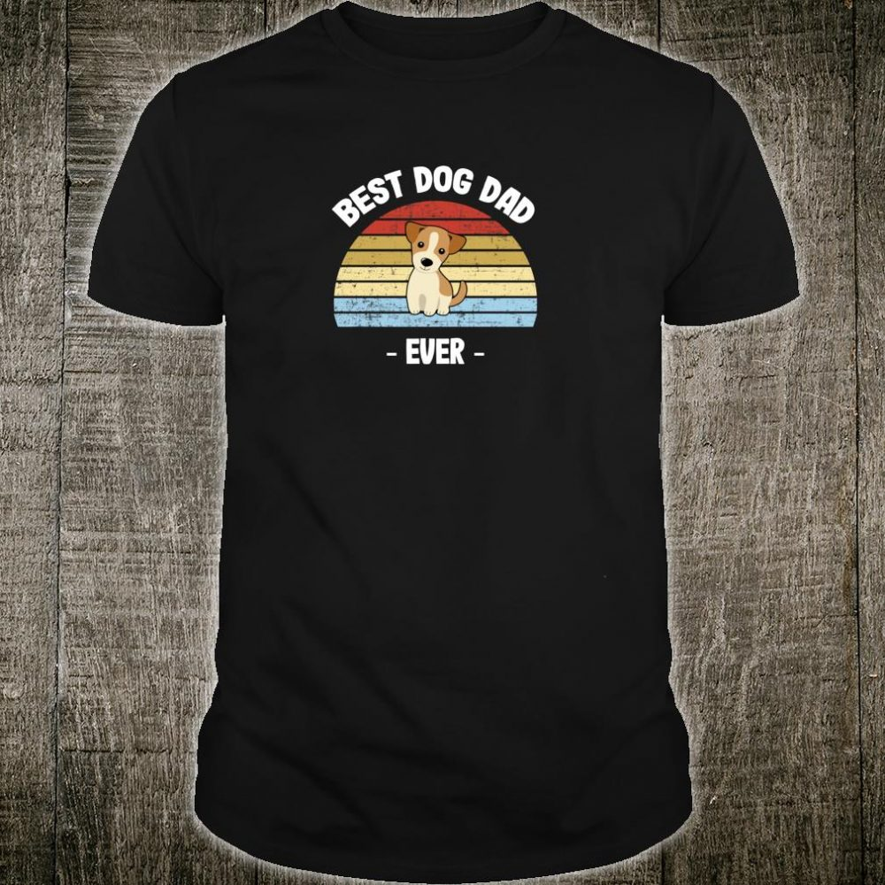 Jack Russell Terrier Dad Shirt