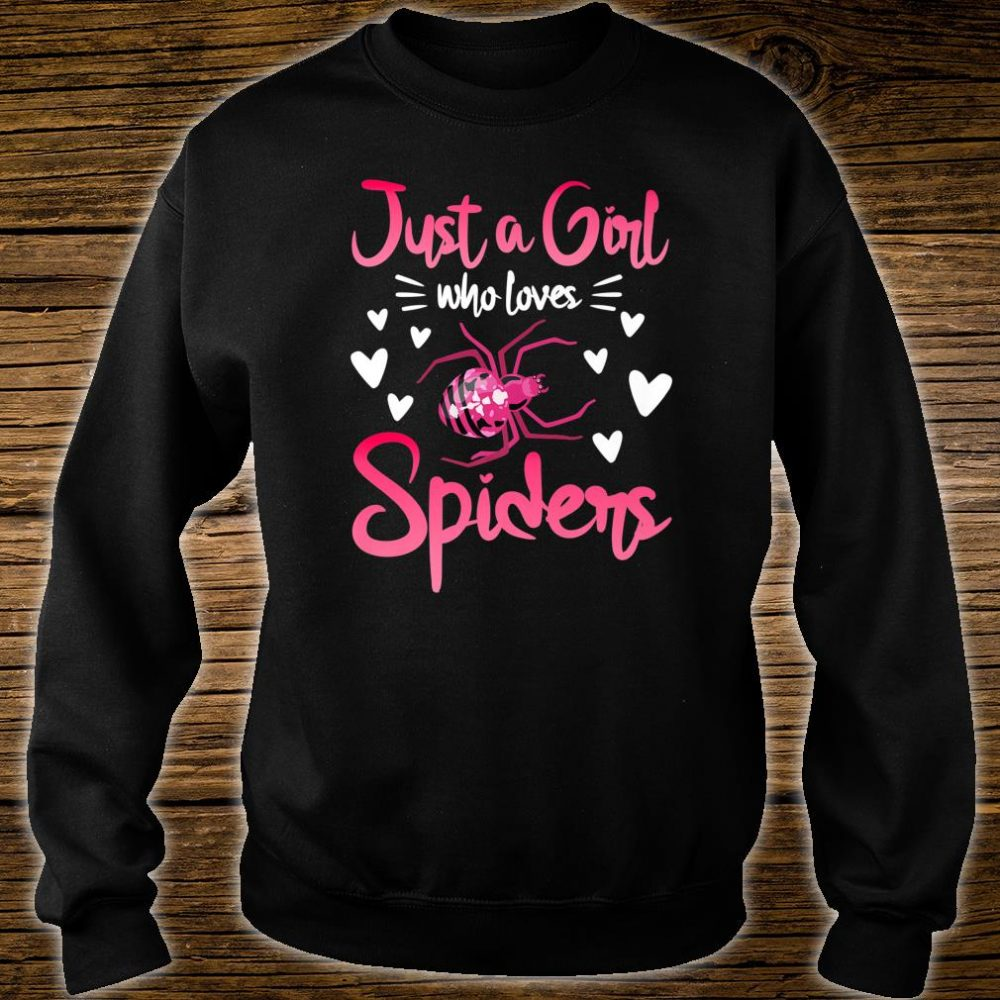 Just A Girl Who Loves Spiders Spider Insect Shirt sweater