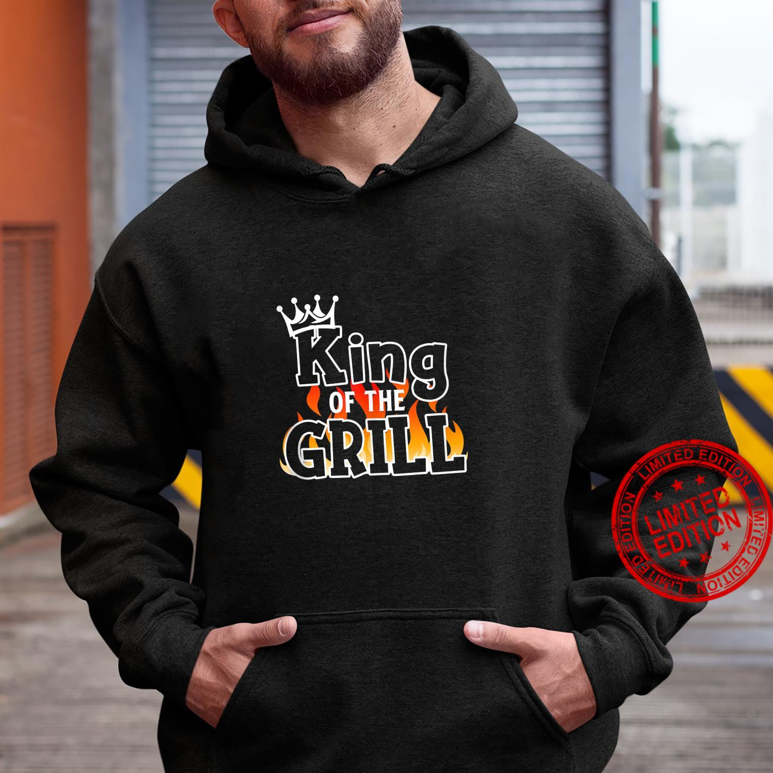 King Of The Grill BBQ Lover Grill Chief Cook Shirt hoodie