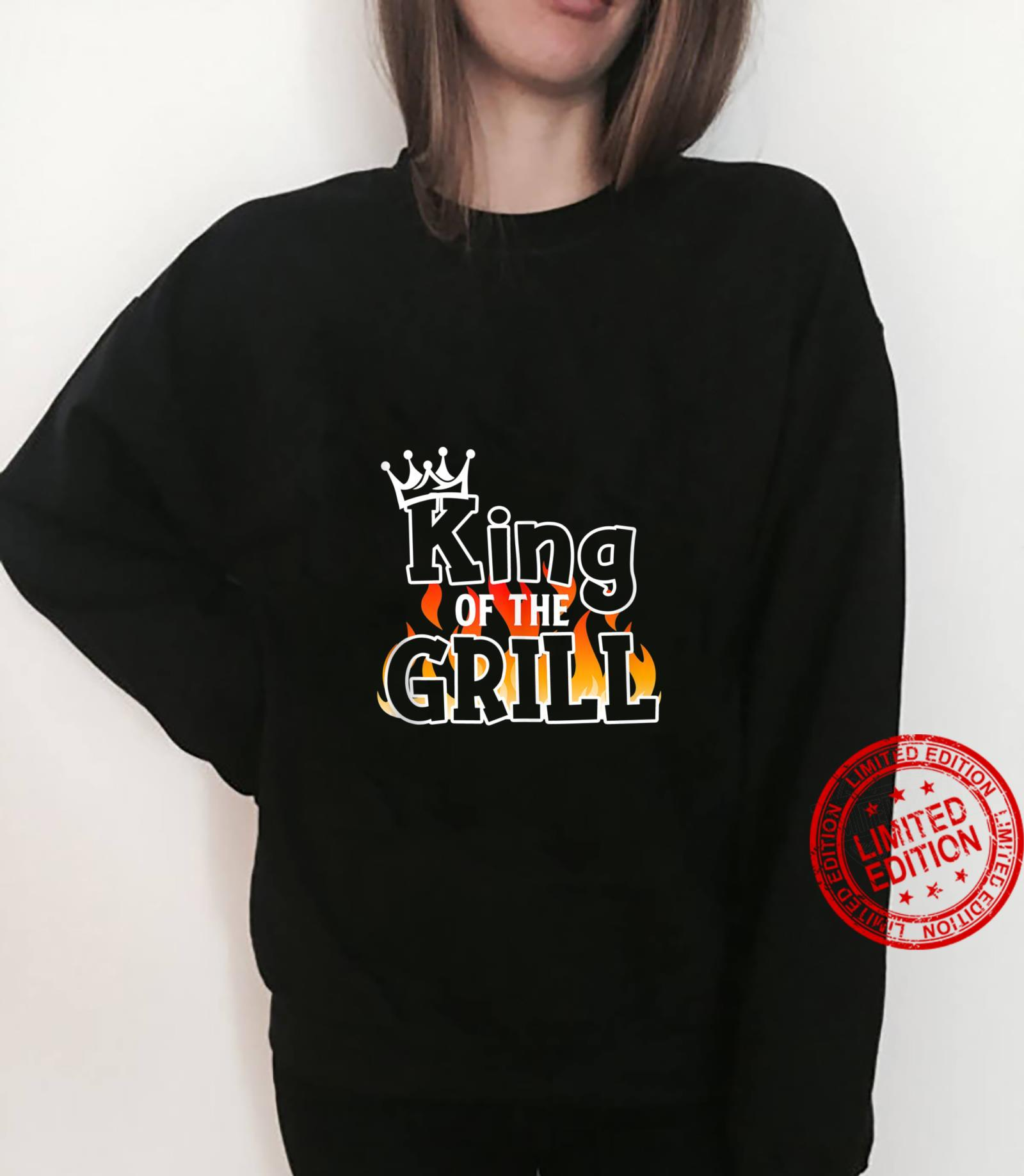 King Of The Grill BBQ Lover Grill Chief Cook Shirt sweater