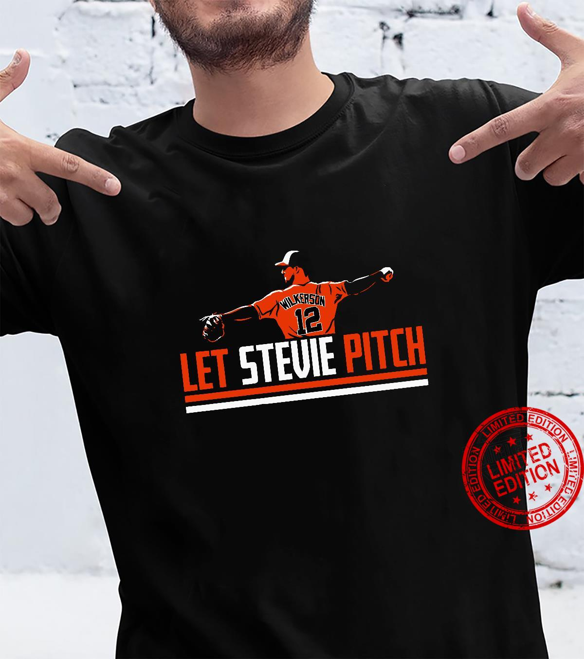 Let Stevie Pitch Shirt
