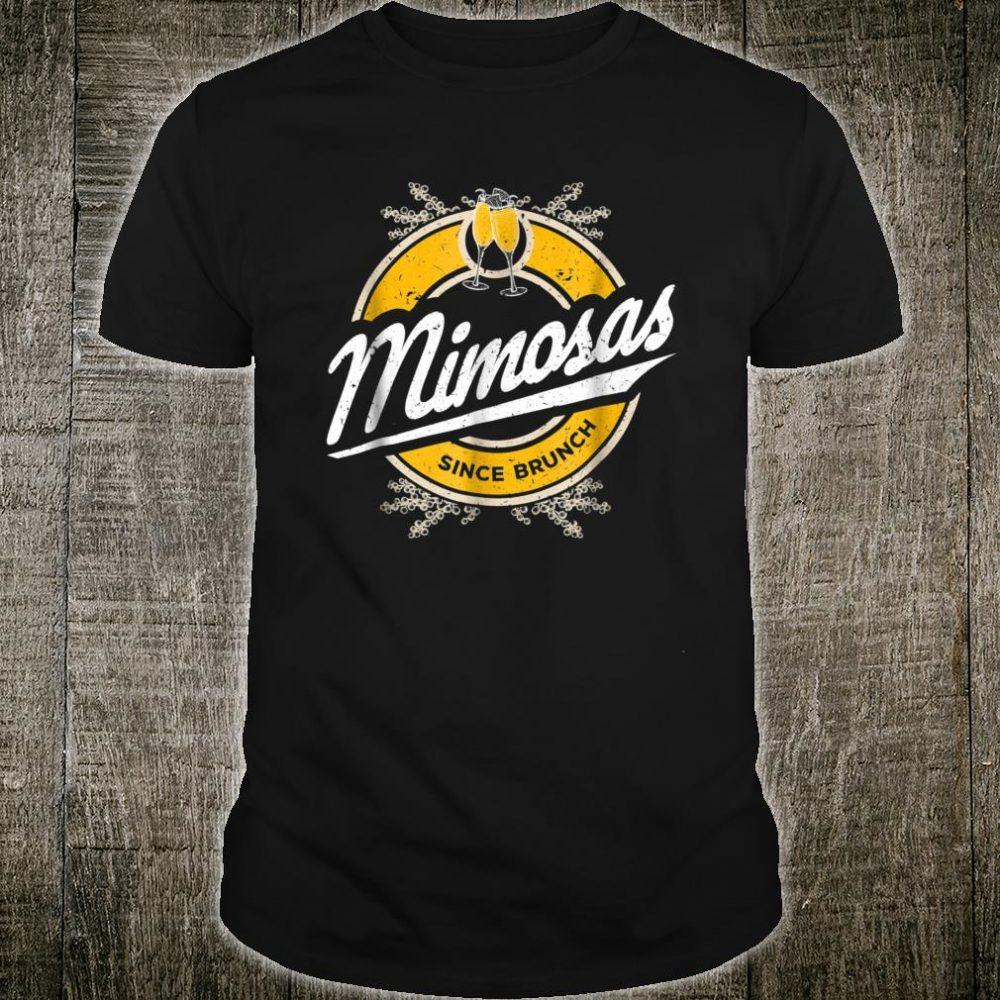 Mimosas Since Brunch Shirt Brunch Squad Mimosa Shirt