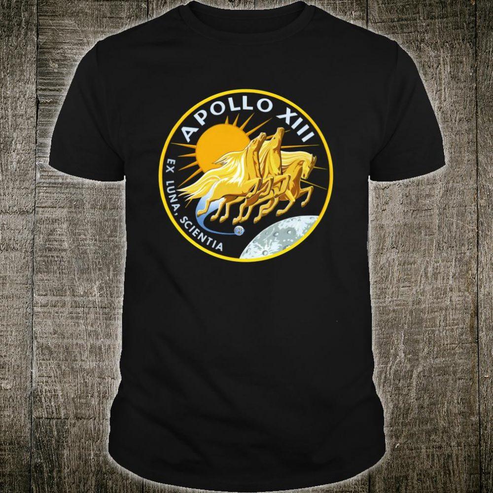 NASA Apollo 13 Mission Patch NASA Shirt