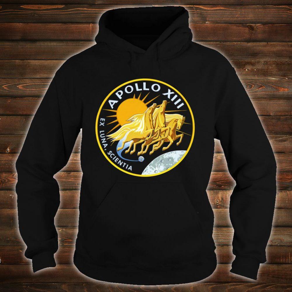 NASA Apollo 13 Mission Patch NASA Shirt hoodie