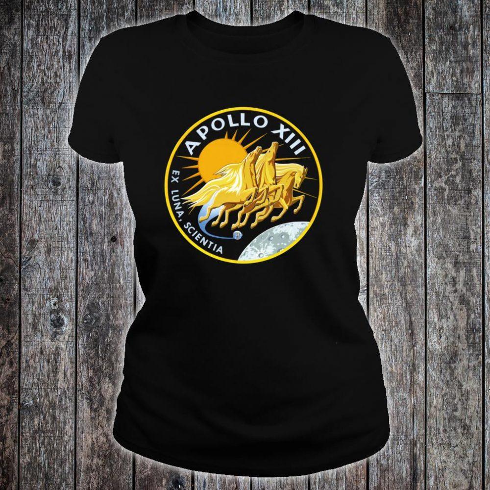 NASA Apollo 13 Mission Patch NASA Shirt ladies tee