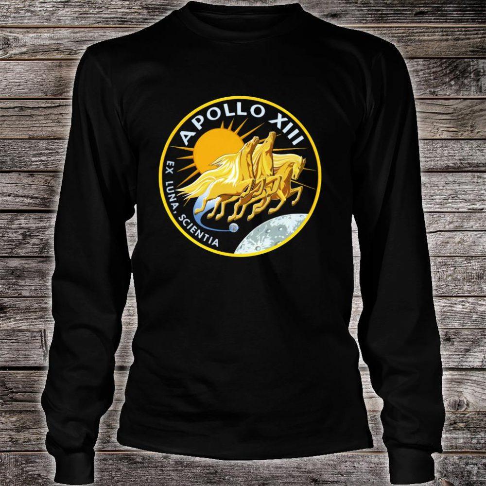 NASA Apollo 13 Mission Patch NASA Shirt long sleeved