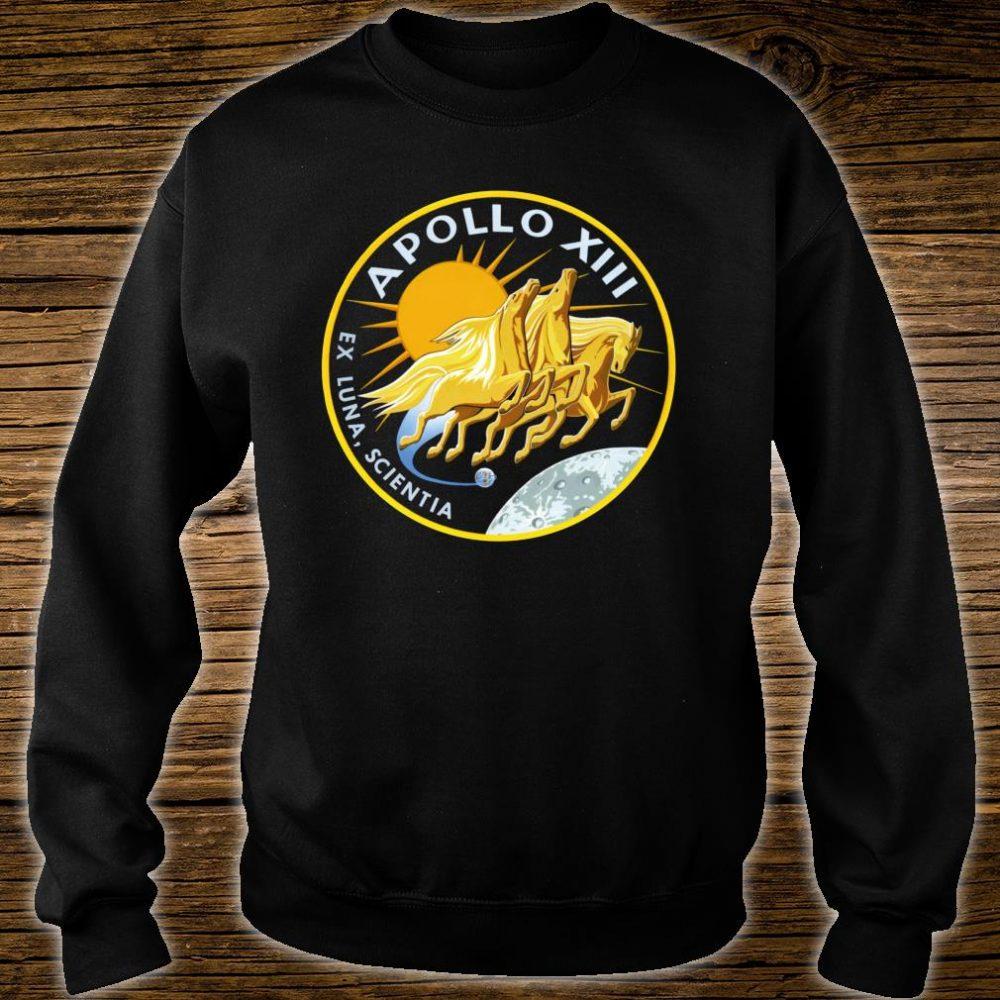 NASA Apollo 13 Mission Patch NASA Shirt sweater