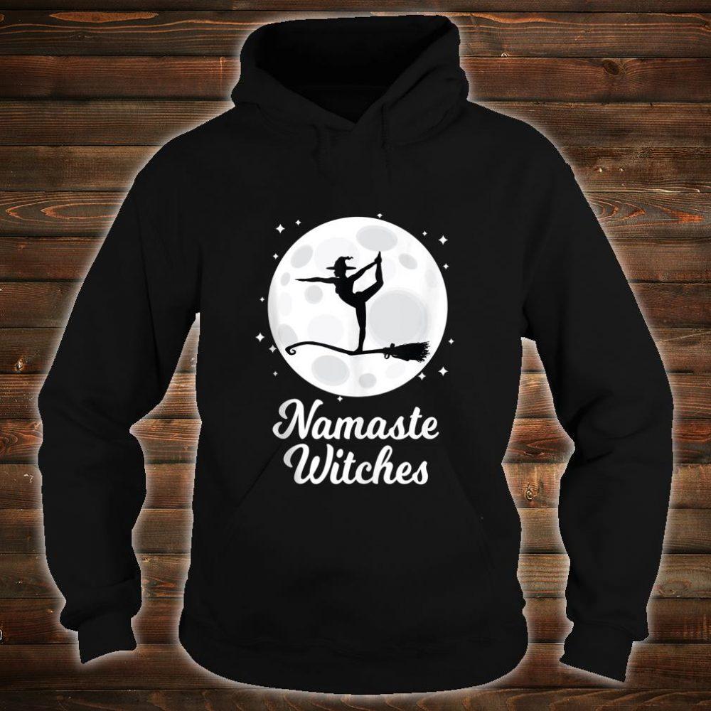 Namaste Witches Halloween Yoga Costume Girls Asana Shirt hoodie