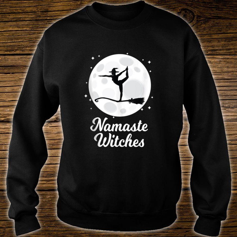 Namaste Witches Halloween Yoga Costume Girls Asana Shirt sweater