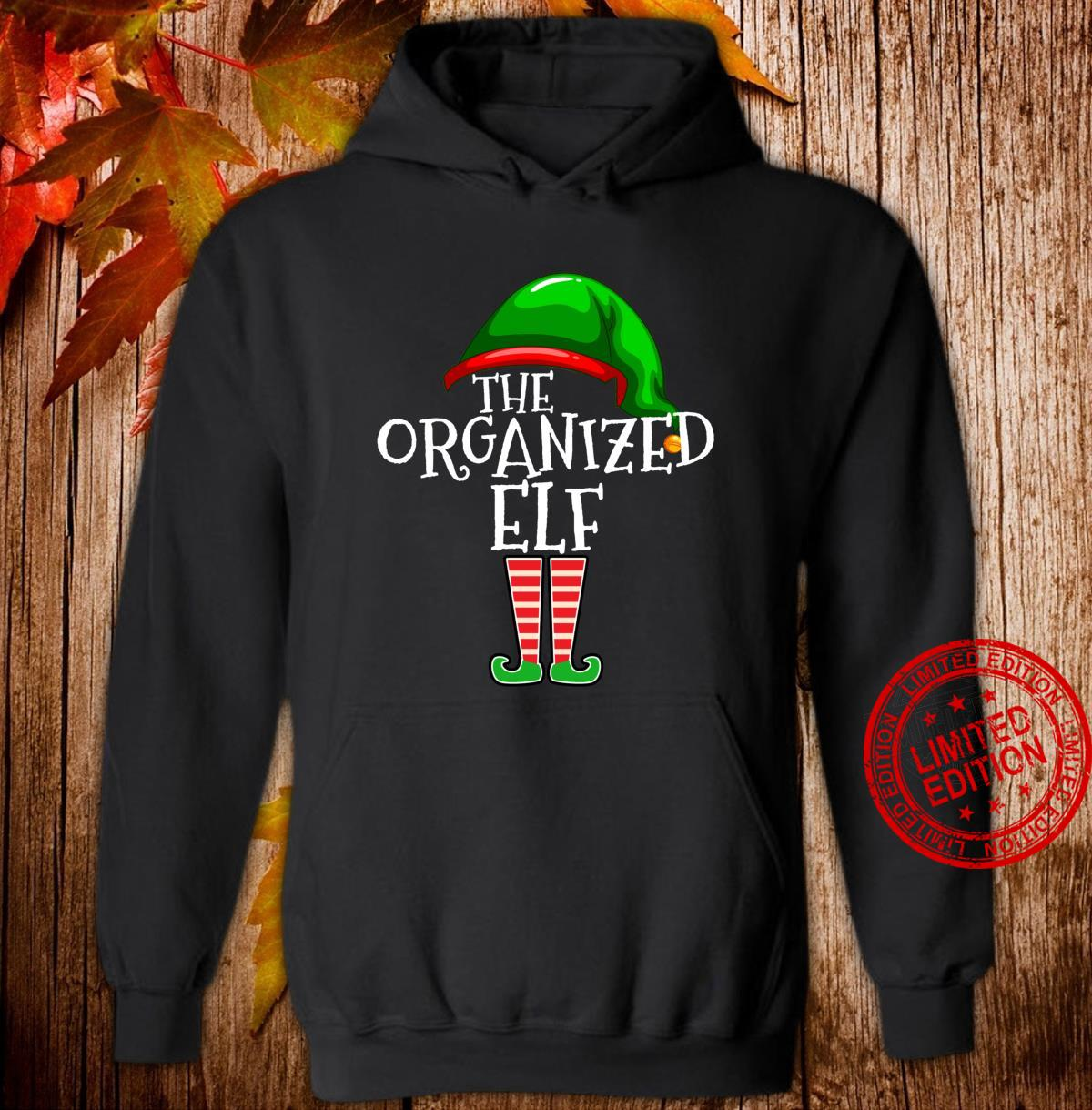 Organized Elf Group Matching Family Christmas Outfit Shirt hoodie