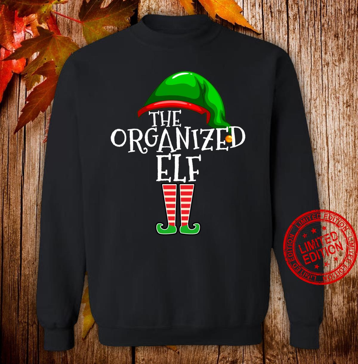 Organized Elf Group Matching Family Christmas Outfit Shirt sweater