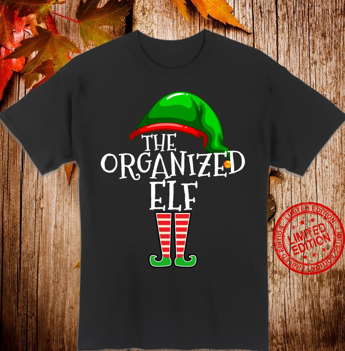 Organized Elf Group Matching Family Christmas Outfit Shirt