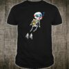Skeleton Diver Halloween Underwater Scuba Diving DIY Shirt