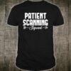 Sonographer Patient Ultrasound Sonography Medical Shirt
