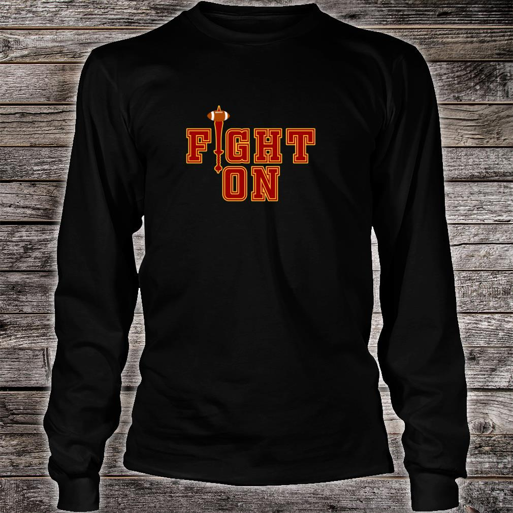 Southern California Fan Victory Game Day Gift Turnover Sword Shirt (2) Long sleeved