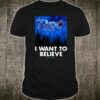 Star Wars AT-AT Reindeer I Want To Believe Holiday Shirt