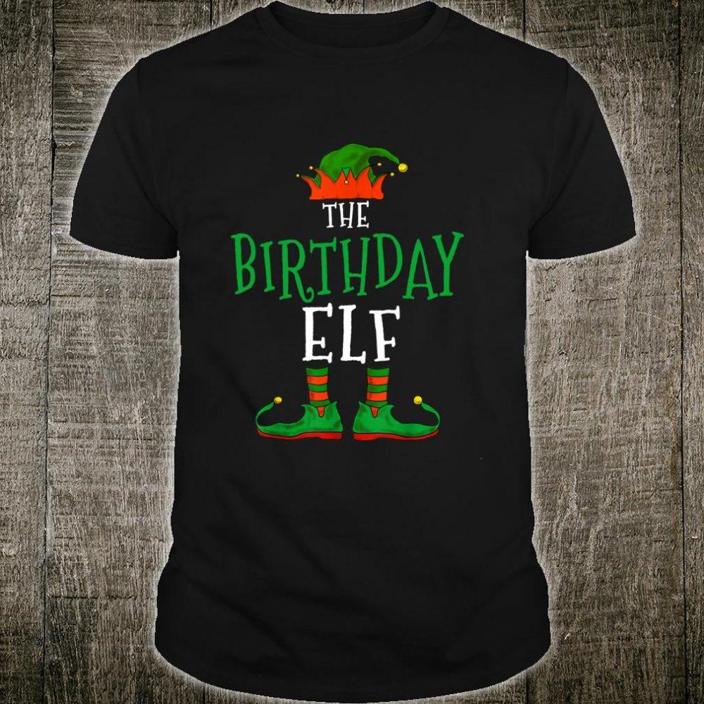 The Birthday Elf Family Matching Group Christmas Shirt