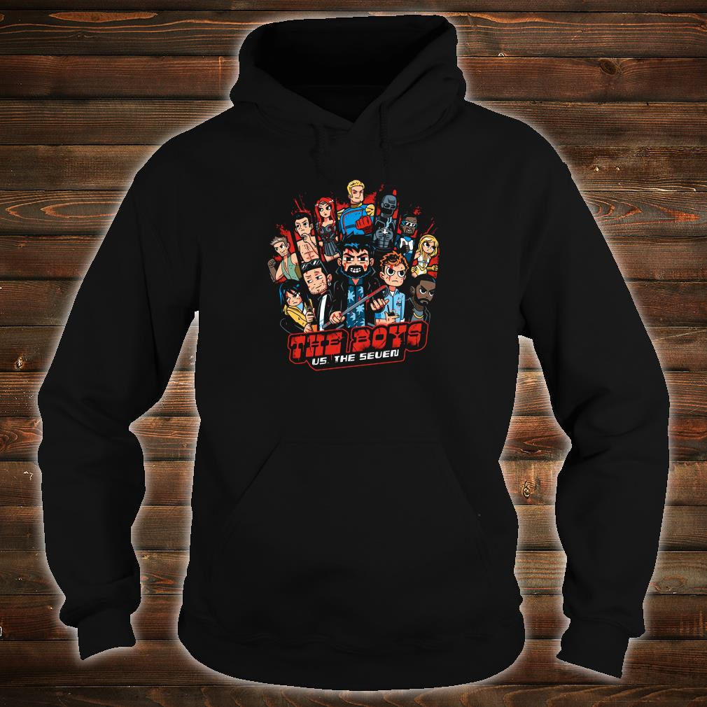 The Boys US The Seven shirt hoodie