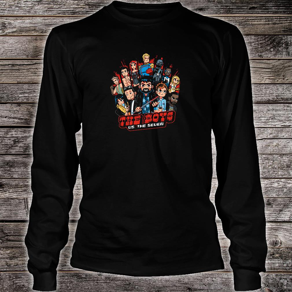 The Boys US The Seven shirt Long sleeved