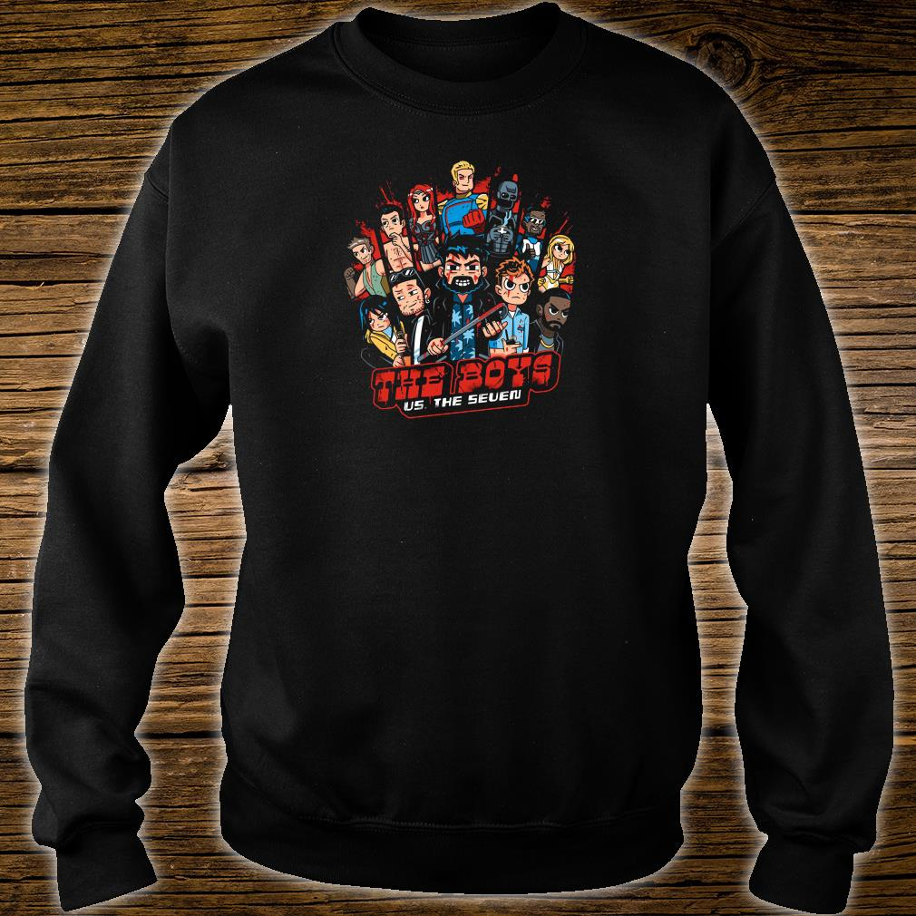 The Boys US The Seven shirt sweater