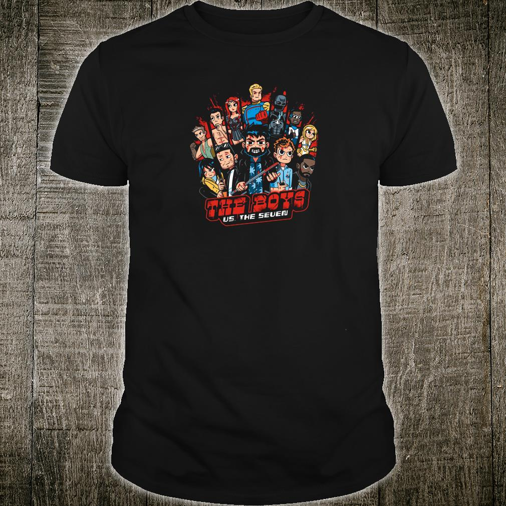 The Boys US The Seven shirt