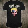 Trump 2020 Fuck Your Feelings Skull USA Flag Reelect Donald Shirt